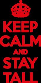 Keep calm and stay Tall - torba