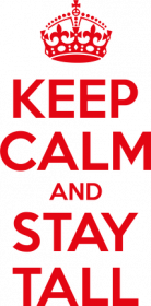 Keep calm and stay Tall - body