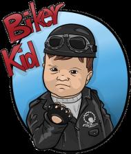 Biker Kid Chopper