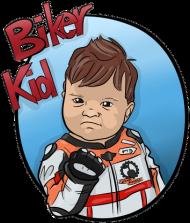 Biker Kid Sport White