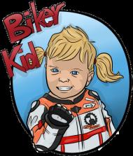Biker Girl Sport Black
