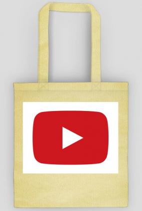 Torba z przyciskiem YouTube