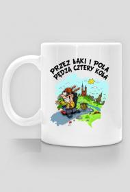 """Kubek """"Przez łąki i pola"""""""