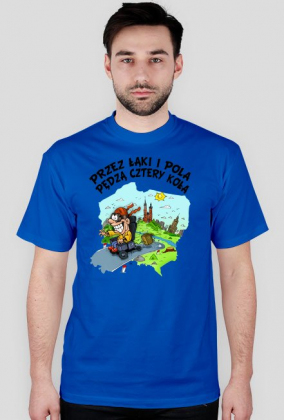 """Koszulka """"Przez łąki i pola"""""""
