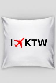 Poduszka I LOVE KTW