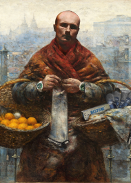 """Testoviron """"Pomarańczarka"""" obraz plakat A2"""