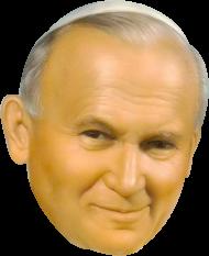 Jan Paweł II Papież kubek obustronny