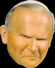 Jan Paweł II Papież kubek obustronny 2