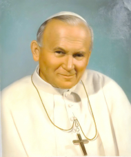 Jan Paweł II Papież torba fullprint