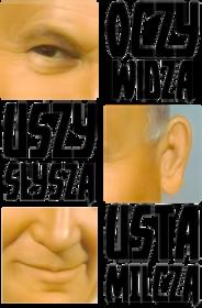 Papaj Oczy Widzą Usta Milczą magiczny kubek