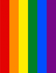 Tęcza LGBT kubek jednostronny