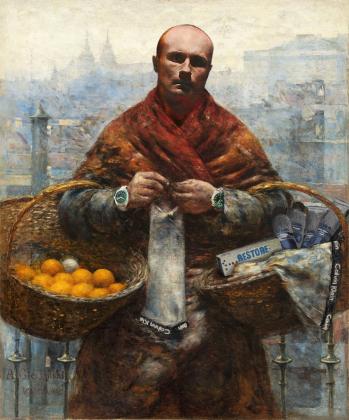 Plecak pomarańczarka