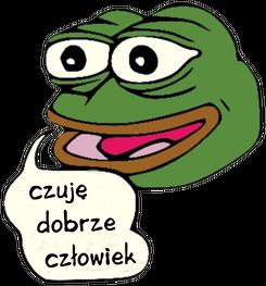 Czuję Dobrze Człowiek (Pepe) kubek