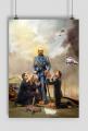 Testoviron, Duda, Morawiecki, Kaczyński - obraz plakat A2