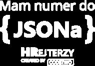 Mam numer do JSONa Czarna - Damska