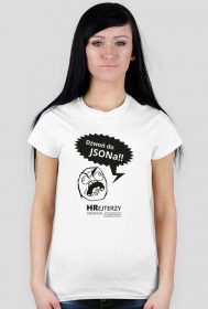 Dzwoń do JSONa Rage Face Biała - Damska