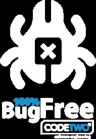 100% Bug Free Damska - Czarna