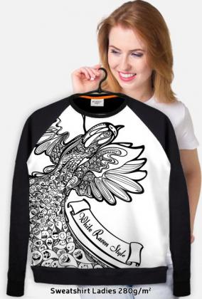 Bluza damska BIRD - White Raven Style