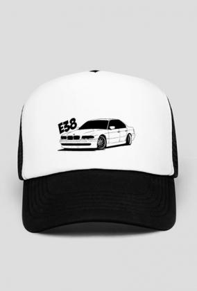 Czapka BMW E38 Klub Polska (Czarna)