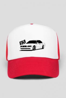 Czapka BMW E38  (Czerwona)