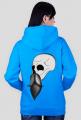 Bearded skull bluza back