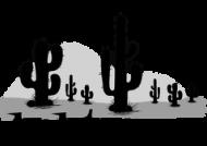 Magiczny kubek na wakacje i lato - Kaktus