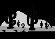 Poszewka na poduszkę Jasia - Kaktus