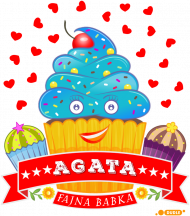 Agata Fajna Babka - Kubek termiczny z imieniem