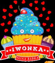 Iwonka Fajna Babka - Worek gimnastyczny A3 z imieniem