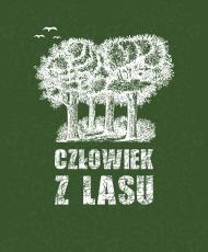 Człowiek z Lasu - Torba na ramię fullprint zielona