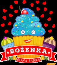 Bożenka Fajna Babka - Worek gimnastyczny A3 z imieniem