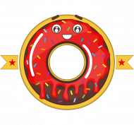 Albert Słodkie Ciacho - Koszulka męska czarna