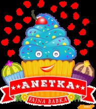 Anetka Fajna Babka - Kubek magiczny z imieniem