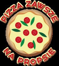 Pizza Zawsze Na Propsie - Kubek biały