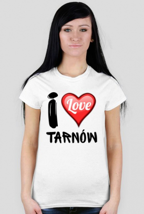 9107eb9c4 Koszulka I Love Tarnów - koszulki w Moja Małopolska
