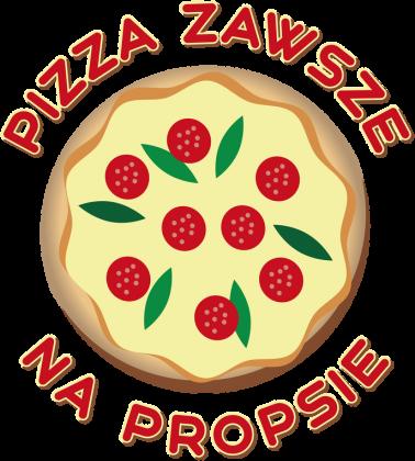 Pizza Zawsze Na Propsie - Fartuch kuchenny