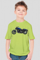 Koszulka dziecięca Model: Havy jednokolorowa - motocykl