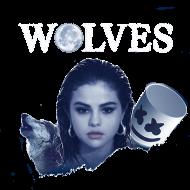 Bluza damska - Wolves