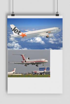 Plakat Samoloty