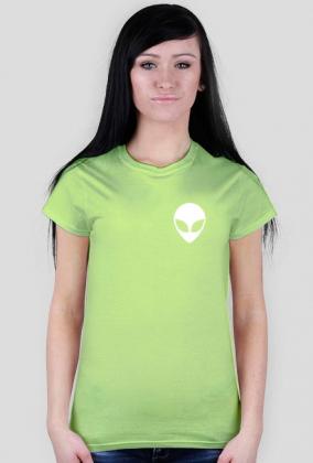 T-Shirt Damski Alien Multicolor