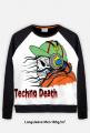 Techno death, bluza męska FP
