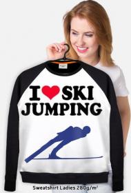 Bluza fanki skoków narciarskich