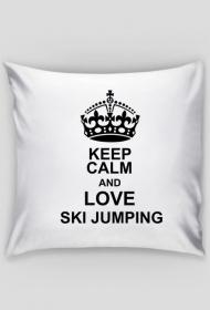 Poduszka fana skoków narciarskich