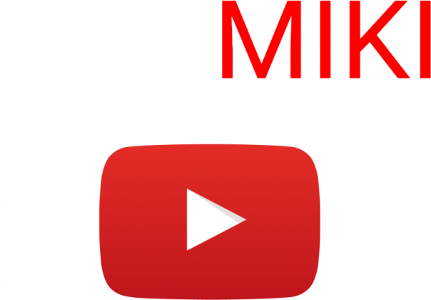 Bluza z kapturem THE MIKI, Logo YouTube
