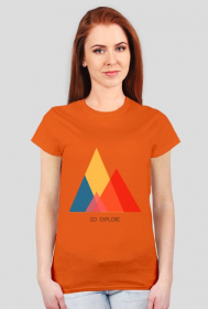 T-shirt damski Go Explore