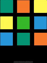 Torba w kolorowe kwadraciki
