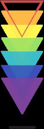 Kubek w trójkąty