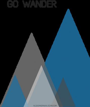Kubek z górami Go Wander