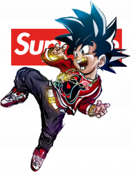Goku Supreme Golden v2 - Anime Street Wear