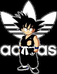Koszulka Męska Goku White - Dragon Ball